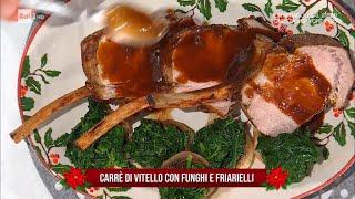Carrè di vitello con funghi e friarielli - E' sempre Mezzogiorno 08/01/2021