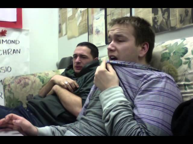 Two Men Watch Childbirth for the First Time (ORIGINAL)