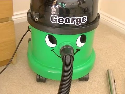 Numatic George GVE 370 Wet/Dry Vacuum Cleaner Demonstration
