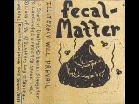 Spank thru fecal matter