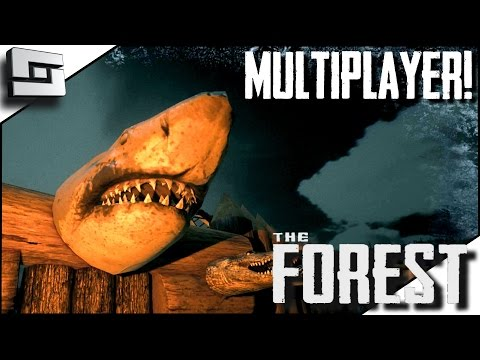 The Forest Multiplayer - SHARKS?! E24 ( Gameplay )