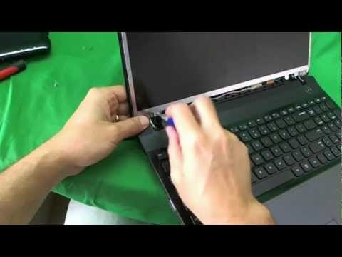 Samsung NP300E5A Laptop Screen Replacement Procedure