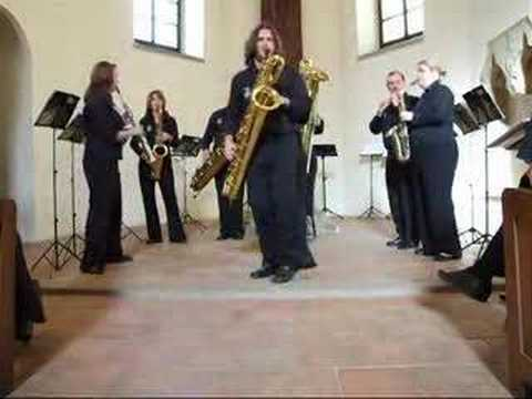 Crazy Rag - SAX FAMILY - National Saxophone Choir Video