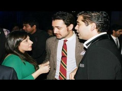 Watch Imran Khan, Arjun Kapoor & Karan Johar @ Chivas Studio 2012 party
