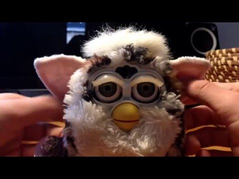 NIGHTMARE FURBY! -Attempts to resuscitate a vintage Furby gone wrong