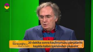 Prof. Saraçoğlu'ndan Akciğer Kanserine Karşı Koruyucu Kür