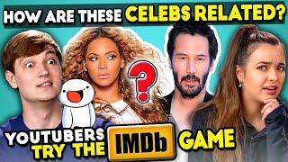 YouTube Stars Play The IMDB Game