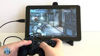 Acer Iconia Tab A200 Gaming with USB Game Controller