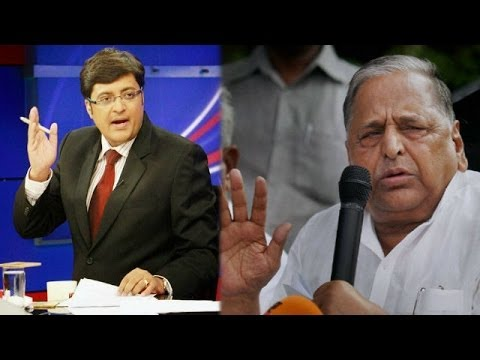 The Newshour Debate: Mulayam Singh pro rapists? - Full Debate (10th April 2014)