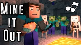 "♪ ""Mine It Out"" - A Minecraft Parody of will.i.am"