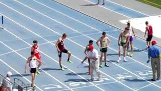 Iowa 2013 Boys Highschool State Track 800m Race 4A