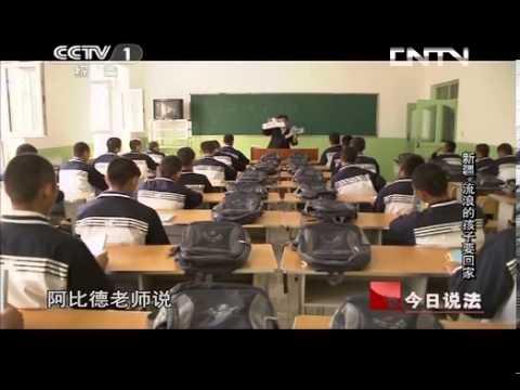 今日說法 《今日說法》 20131109 新疆:流浪的孩子要回家