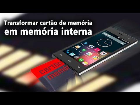 Como transformar cartão de memoria em memoria interna. baixe jogos e apps no cartão de memória.