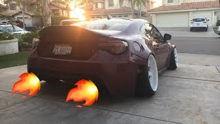 INSTALLING A BACKFIRE/POP TUNE ON MY SCION FRS! *SHOOTING FLAMES*