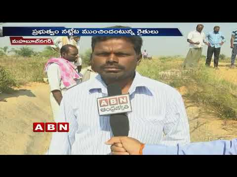 Farmers Facing Problems Due to Water Scarcity in Jurala Project | Mahabubnagar | ABN Telugu