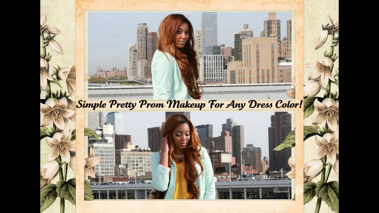 Simple Makeup For Prom Simple Pretty Prom Makeup For