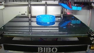 BIBO 2 Touch Live 3D Printing