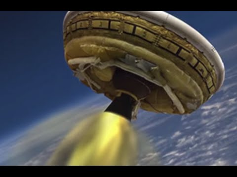 Oh chute! NASA's 'flying saucer' parachute rips during test