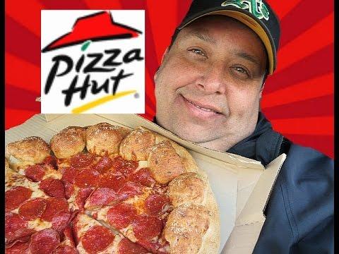 Pizza Hut® Stuffed Garlic Knots Pizza REVIEW!!