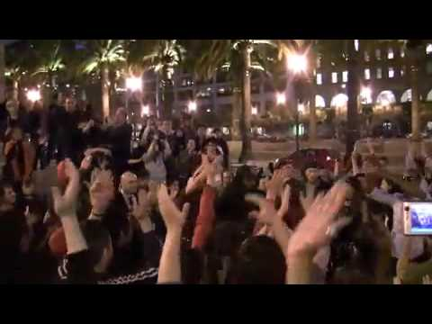 Michael Jackson Flashmob