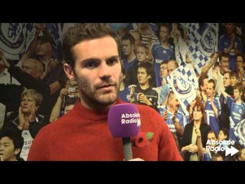 Juan Mata on Hazard and Oscar