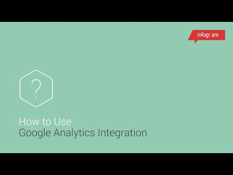 Infogram Google Analytics Integration