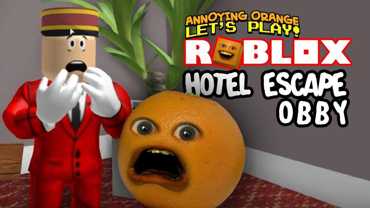 Roblox: Hotel Escape OBBY! [Annoying Orange Plays]