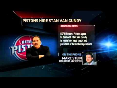 Stan Van Gundy Pistons Pistons Hire Stan Van Gundy