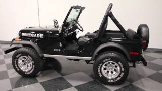 2969 ATL 1978 Jeep CJ 5 Renegade