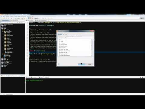 Codeigniter Tutorial for Beginners - Removing index.php mod_rewrite