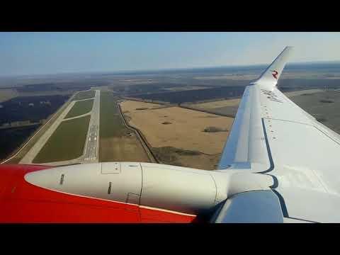 Взлет и посадка Боинг737