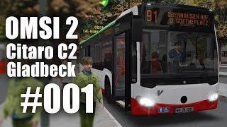 OMSI 2 mit dem Citaro C2 durch Gladbeck Linie SB91 #001