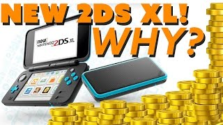 Nintendo Announces NEW 2DS XL... But Why? - The Know Gaming News