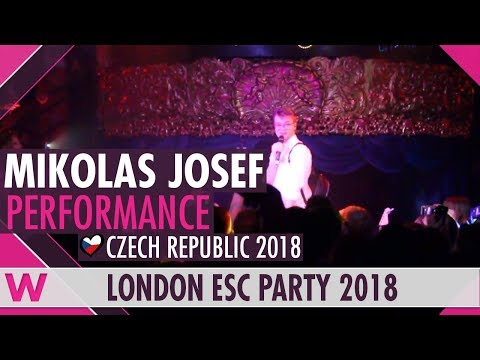 "Mikolas Josef ""Lie To Me"" (Czech Republic 2018) LIVE @ London Eurovision Party 2018"