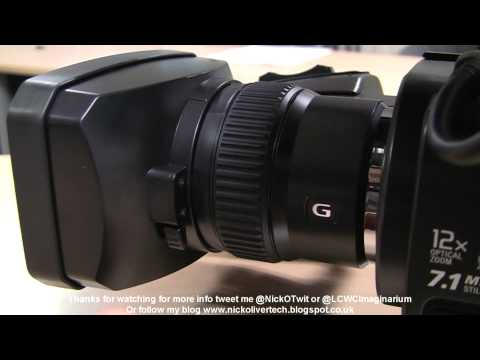 Sony HXR-MC2000 unboxing / review