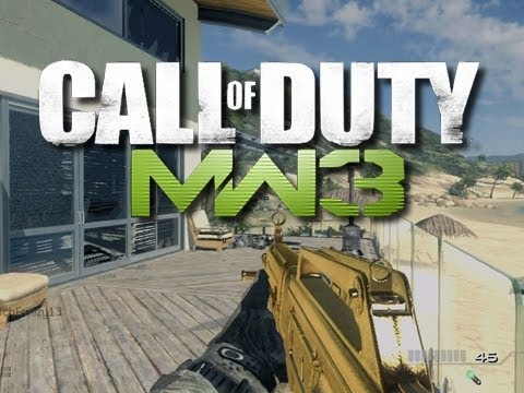 MW3 - Throwing Knife Fun!