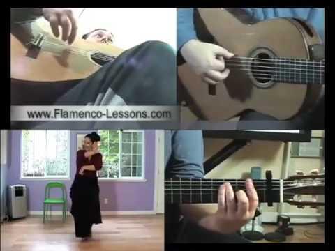 Flamenco-Lessons.com Bulerias Dance Accompaniment Excerpt