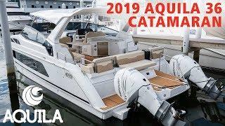 2019 Aquila 36 Catamaran For Sale at MarineMax St. Petersburg, Florida
