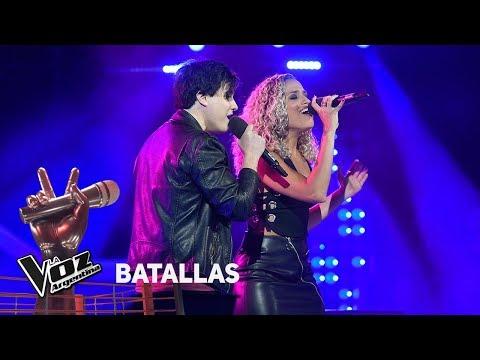 "Federico vs Anastasia - ""Just give me a reason"" - Pink  - Batallas - La Voz Argentina 2018"