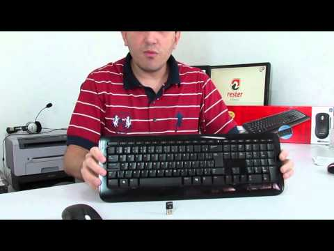 #ResterTECH S02E08 - Review Microsoft Wireless Desktop 800