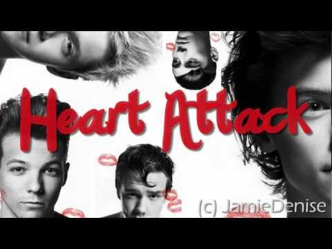 Heart Attack - One Direction (BEST LYRIC VIDEO) (Lyrics + Download) (HQ)