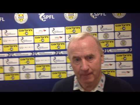 Tommy Craig * Preview * St Mirren v Ross County * 23/10/2014