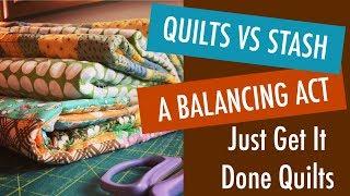 Sew Up Your Stash - 5 Strategies to Keep it Balanced