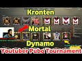 Dynamo Team Vs Kronten Team Vs Mortal Team Full Match, Youtubers Pubg Halloween Tournament highlight
