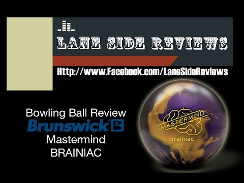 Brunswick Mastermind Brainiac Review by Lane Side Reviews