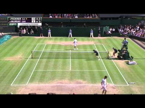 Wimbledon Final Federer Murray Highlights HD