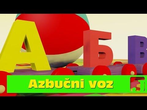 Azbu?ni voz | Edukativne pesme za decu | U?imo azbuku | Alphabet Train | Jaccoled