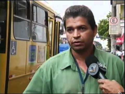 TV Vitoriosa flagra acidente no centro de Uberlândia