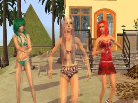 KeyOfAwesome Parody - California Gurls (Sims 2)