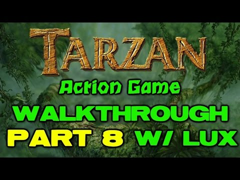 Walkthrough Tarzan Action Game Part 8 Trashing Camp